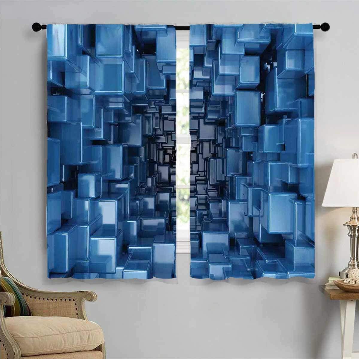 Room Darkening Tampa Mall Curtains Digital Geometric Art Prints Philadelphia Mall Window Tr