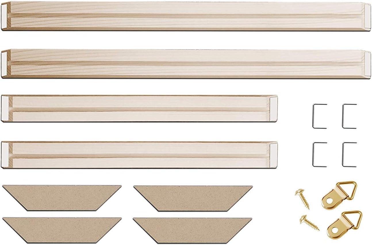 DIY Canvas Stretcher Bars Customized Size 1
