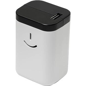 オウルテック 乾電池式モバイルバッテリー 電池でGO!!USBタイプ 充電器 2年保証 ホワイト OWL-DBU1-WH
