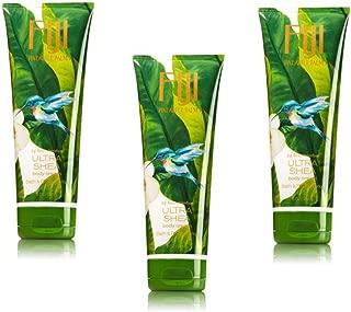 Bath & Body Works 24Hr Moisture Ultra Shea Signature Collection Fiji Pineapple Palm Body Cream Pack of 3