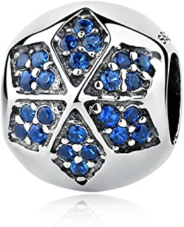 EverReena Beads Free Fishes Blue Murano Glass for Silver Bracelets