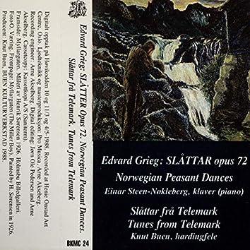 Edvard Grieg - Edvard Grieg: Slåttar Opus 72. Slåttar Frå Telemark.