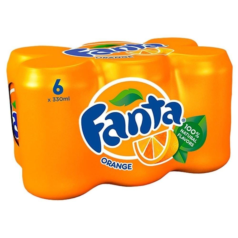 Fanta Orange (6x330ml)
