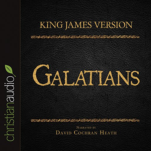 Holy Bible in Audio - King James Version: Galatians audiobook cover art