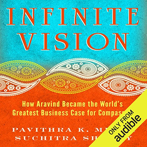 Infinite Vision audiobook cover art