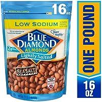 Blue Diamond Low Sodium Lightly Salted Almonds (16 Ounce)