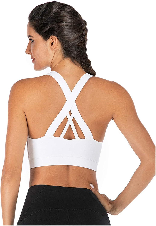 BeautBoy Women Quality inspection Criss Cross Sports Strappy Store Runnin Yoga Padded Bra
