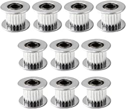 GT2 Idler Pulley Timing Belt Pulley 20 Teeth 5mm Bore for 3D Printer CNC 10mm Width Belt Pack of 10