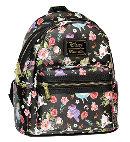 Loungefly X Disney Alice In Wonderland Allover Print Mini Backpack