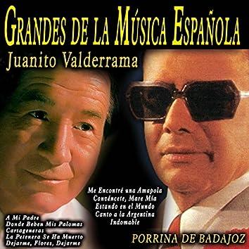 Grandes de la Música Española: Juanito Valderrama y Porrina de Badajoz