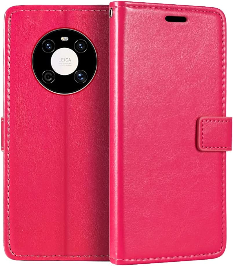 Huawei Mate 40E 4G Wallet Case, Premium PU Leather Magnetic Flip Case Cover with Card Holder and Kickstand for Huawei Mate 40E 4G