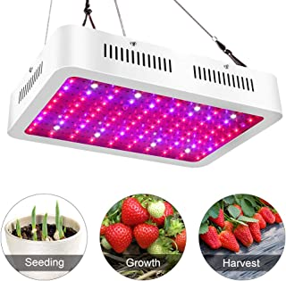 Big Sale!ASIGN LED Grow Light 1000w Dual Chip Full Spectrums UV IR LED for Indoor Plants Vegetable Flowers Growing Light Fixtures for Greenhouse Hydroponics