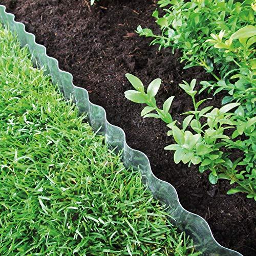 Bordure de pelouse Wave Verz. 500 x 14 cm Lot de 2 10096