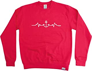 Ocean Bound Sailing Sailing Sailing Sweatshirt - Pulse Anchor - Sweater Jumper