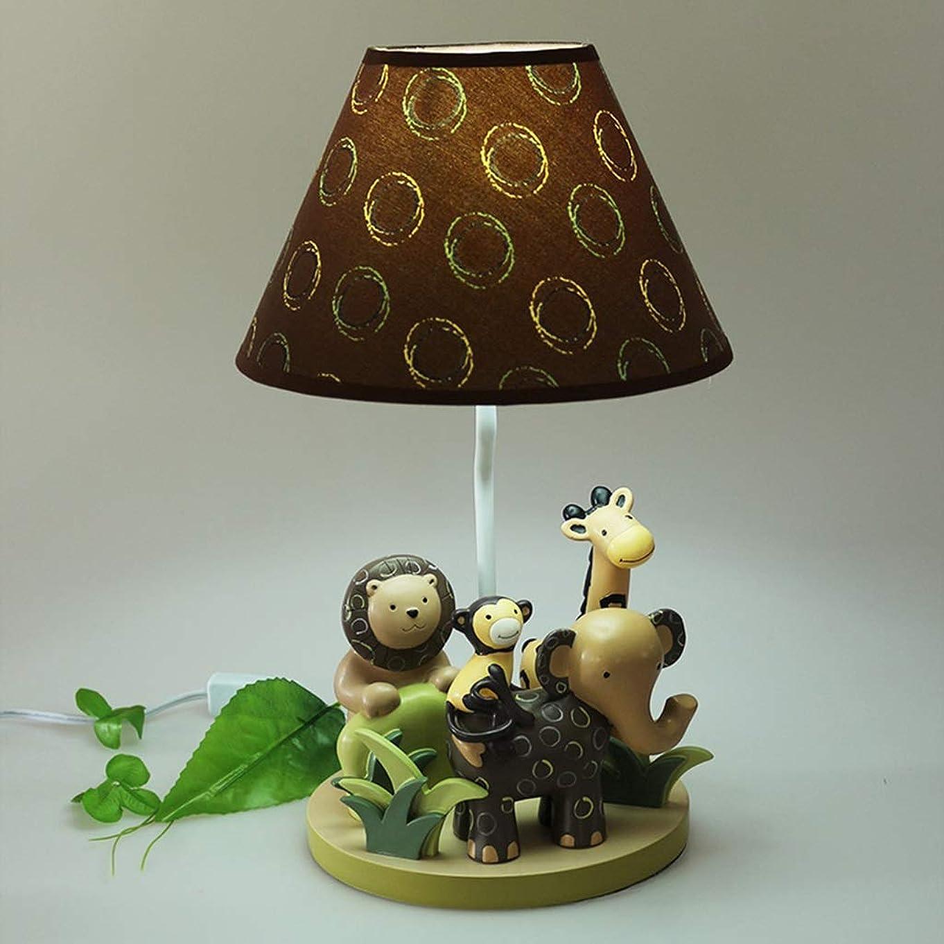 治世マーガレットミッチェルコークスRXY-101 樹脂動物象ランプ小さな男の子寝室ベッドサイドランプクリエイティブ子供部屋暖かい漫画かわいい装飾的なライト