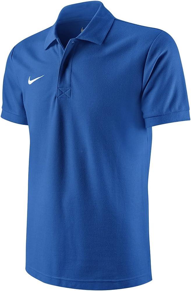 Nike ts core polo magliettada uomo a maniche corte 100% cotone 454800-105