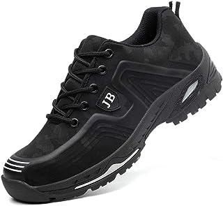 Mitudidi Baskets Securite Hommes 41 S3 Chaussures de Sécurité Femme Garçon Respirant Légère Enfants Légère Chaussures de R...