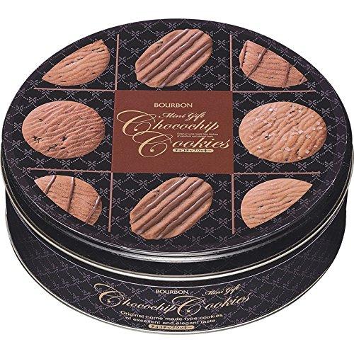 ブルボン ミニギフトチョコチップクッキー缶 【BOURBON かん お菓子 おかし おやつ 焼き菓子 スイーツ おしゃれ かわいい 定番 お取り寄せ グルメ おいしい 美味しい うまい】