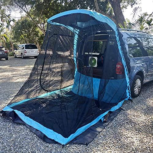 FHB Carpa para Camión, Carpa para Camioneta de Tamaño Completo, Camper para Camioneta Impermeable, Campamento de Instalación Rápida/Desmontaje