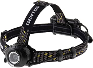 GENTOS(ジェントス) LED ヘッドライト 【明るさ360-700ルーメン/実用点灯6-8時間/後部認識灯】 ヘッドウォーズ ANSI規格準拠