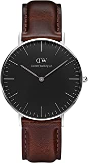 Daniel Wellington Classic Bristol Watch, Italian Brown Leather Band