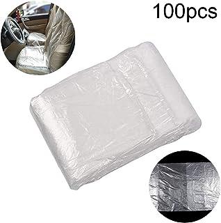 80cm//Transparent Joeesun Protecteur De Housses De Si/ège De Voiture Jetable Plastique Transparent Traction Forte Et Protecteur De Housses De Si/ège /éPaissi 145