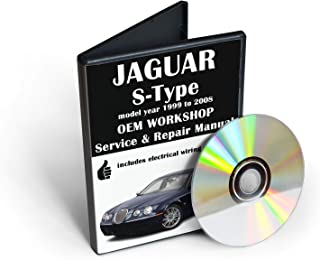 Jaguar S-Type Service & Repair Manual [CD-ROM] (fits year: 1999, 2000, 2001, 2002, 2003, 2004, 2005, 2006, 2007, 2008)