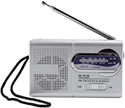 Tangxi Multi-Function Mini Pocket AM/FM BC-R119 Digital Radio Portable Pocket Speaker Play Built-in Speaker,Stereo Sound,Retractable Antenna for Clearer Sound,Small Compact Size