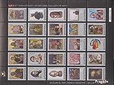 Prophila Collection Albanien 3003-3027 Zd-Bogen (kompl.Ausg.) 2004 Gemälde (Briefmarken für Sammler) Malerei