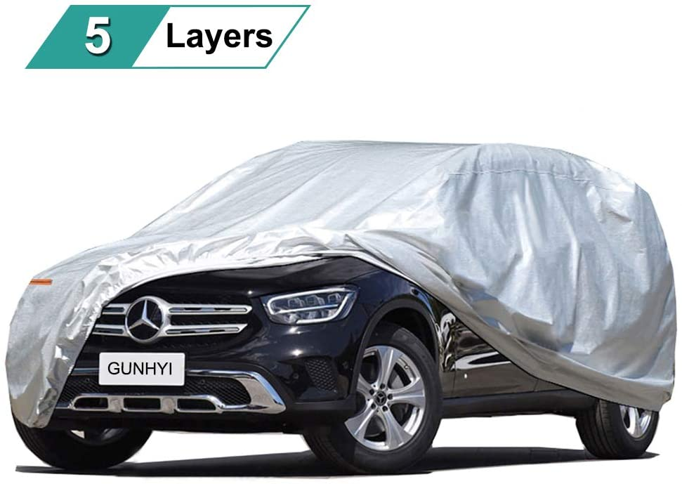 GUNHYI SUV Car Cover All Fit Weather Waterproof Universal Opening large release sale Import Honda