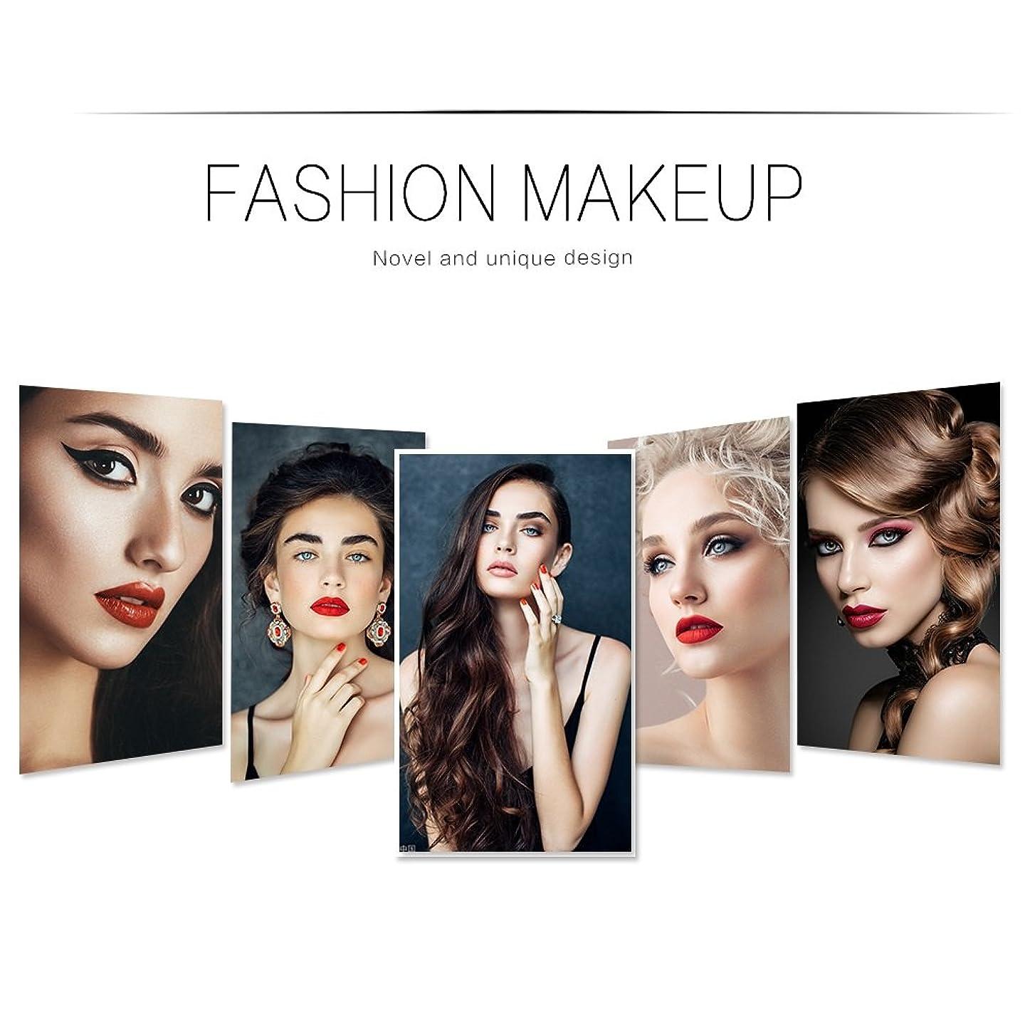 ランドマークマティスむしろKeriya Sende 5個化粧ブラシツール大理石パターンブラシセット高品質 (色 : Marble handle makeup brush set)