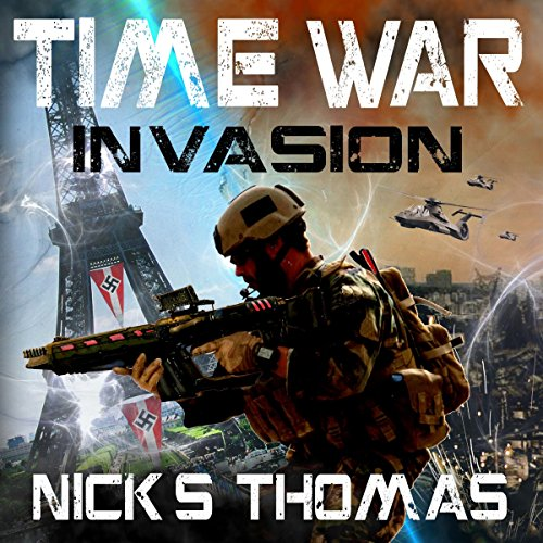 Time War: Invasion audiobook cover art