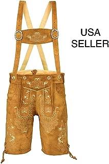 gold lederhosen