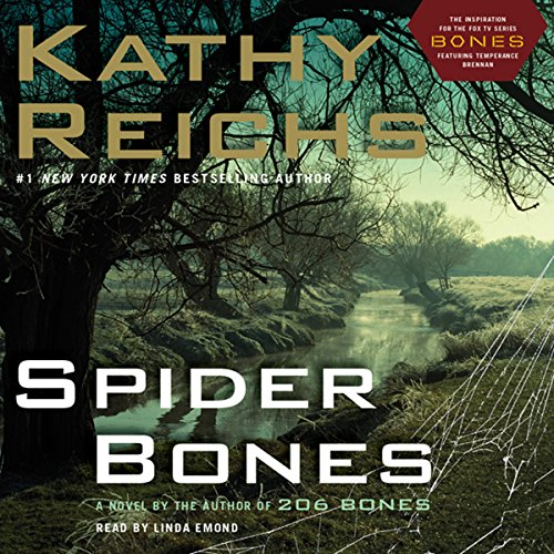 Spider Bones audiobook cover art