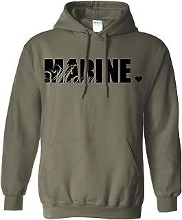 Marine Mom Hooded Sweatshirt