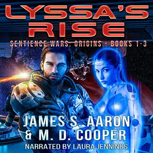 Lyssa's Rise - Sentience Wars Books 1-3 Omnibus Titelbild