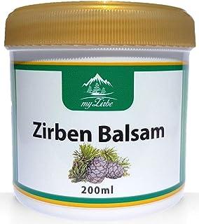 Zirbenbalsam 200ml mit Zirbenöl aus Österreich für Nacken