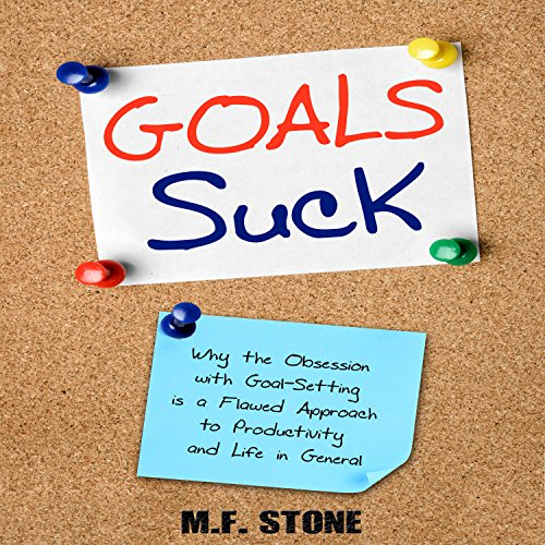 Goals Suck audiobook cover art
