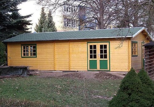 Casa de jardín Nordsee, II 515 cm x 930 cm, 45 mm, caseta d