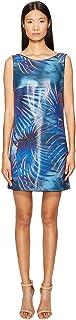 Just Cavalli Women's Tie-dye Palm Print Dress