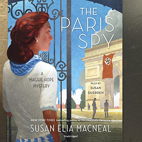 The Paris Spy audiobook cover art