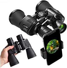 20x50 Binoculars for Adults,High Power HD With Weak Light Night Vision Waterproof Binoculars for Bird Watching Travel Hunting Football Concerts(2019NEW)