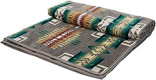 [ ペンドルトン ] Pendleton タオルブランケット オーバーサイズ ジャガード タオル XB233 51108 チーフジョセフグレー Oversized Jacquard Towels CHIEF JOSEPH, Grey 大判 バス...