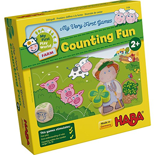 HABA My Very First Games - Counting Fun - A Farm Themed Game for Ages 2+ (Made in Germany)