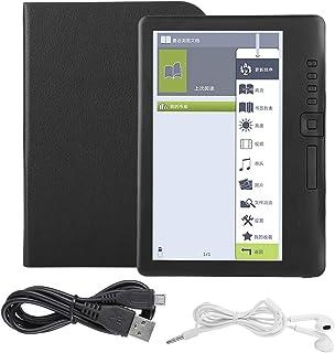 E-bokläsare, bärbar 7 tum färgglad skärm E-bok vattentät E-bokläsare ultratunn E-bok stöder minneskort, musik/video/foton,...