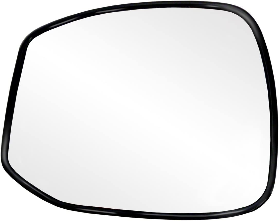 Fit System 63555H Honda Civic Passenger Side Replacement OE Style Manual Remote Mirror
