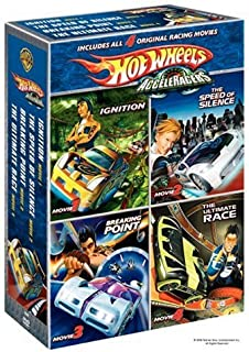 Hot Wheels Acceleracers Boxed Set: (Ignition / The Speed of Silence / Breaking Point / The Ultimate Race)