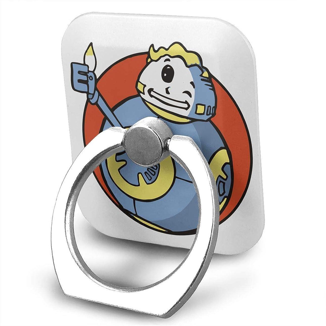 思われるマルコポーロ対応ゲーム フォールアウト スマホ リング ホールドリング 指輪リング スクエアス 薄型 おしゃれ スタンド機能 落下防止 360度回転 タブレット/スマホ IPhone/Android各種他対応