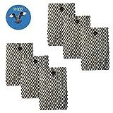 HQRP Seis filtros de Mecha para Bionaire Humidificador BWF100 / BWF-100, BWF100CS, BWF100P + HQRP Posavasos
