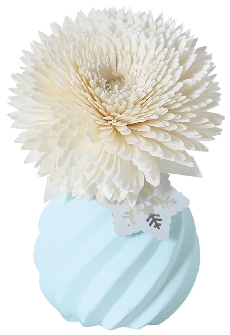 無礼にデモンストレーション悪性のノルコーポレーション ルームフレグランス RIKKA 90ml ギフトボックス ホワイトティーの香り OA-RIK-1-2